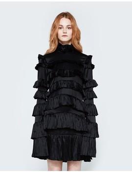 Plisse Mini Dress by Off White