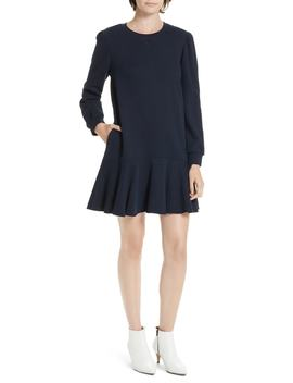 Long Sleeve Fleece Mini Dress by La Vie Rebecca Taylor