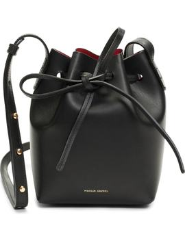 Mini Mini Leather Bucket Bag by Mansur Gavriel