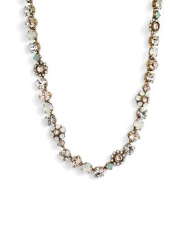 Classic Floral Crystal Necklace by Sorrelli