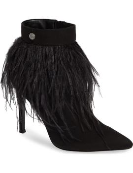 Danella Feather Bootie by Nina