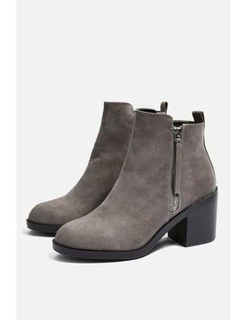 **Wide Fit Brittney Unit Boots by Topshop