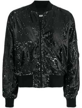 Ktz Limited Edition Sequin Bomber Jacket by Ktz