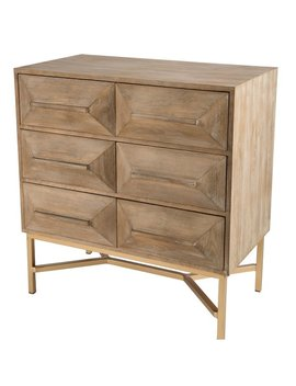 Bungalow Rose Brotherton 6 Drawer Accent Chest & Reviews by Bungalow Rose