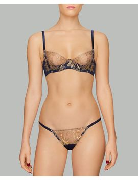 Golden Heron Bikini Brief by Coco De Mer