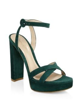 Platform Ankle Strap Sandals by Gianvito Rossi