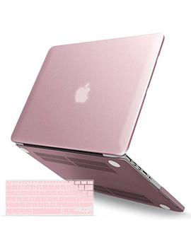 "I Benzer Basic Soft Touch Series Plastic Hard Case & Keyboard Cover For Apple Mac Book Pro 13 Inch 13"" With Retina Display A1425/1502 (Previous Generation) (Rose Gold) by I Benzer"