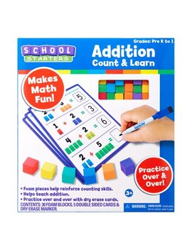 Tara Toy School Starters – Addition Count And Learn Game And Activity; Back To School 2018 by School Starters