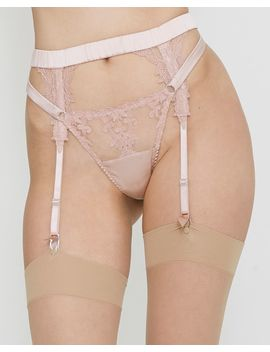 Affection Suspender Belt by Fleur Of England