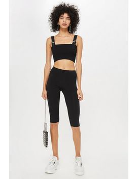 Slinky Cropped Leggings by Topshop