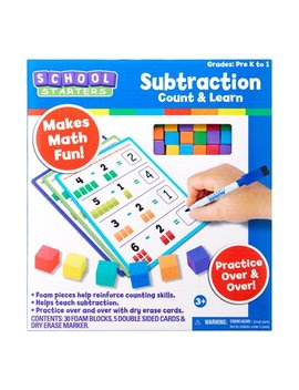Tara Toy School Starters – Subtraction Count And Learn Game And Activity; Back To School 2018 by School Starters