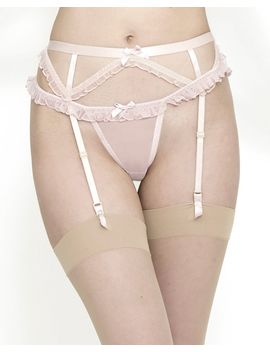 Cassandra Suspender Belt by Journelle