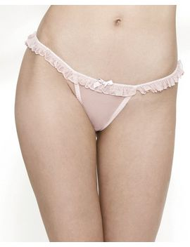 Cassandra String Thong by Journelle