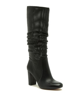 Secillia Perforated Boot by Vince Camuto