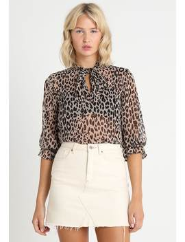 Tina Tie Neck Blouse   Bluse by Gina Tricot