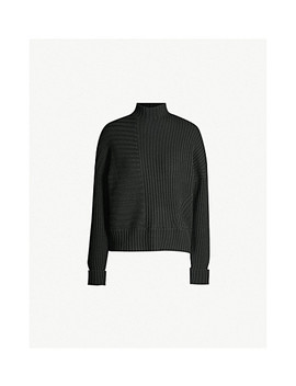 Contrast Knit Wool Jumper by Me And Em