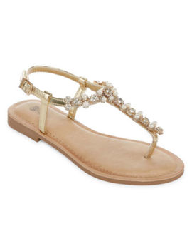 Gc Shoes Layla Womens Flat Sandals by Gc Shoes