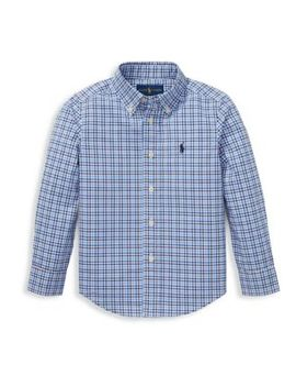 Little Boy's Plaid Button Down Shirt by Ralph Lauren