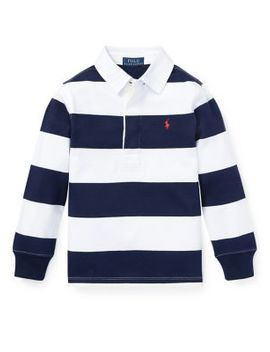Little Boy's & Boy's Rugby Shirt by Ralph Lauren