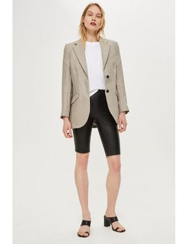 **Leather Cycling Shorts By Boutique by Topshop