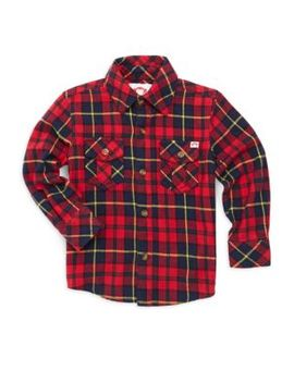 Little Boy's & Boy's Cotton Flannel Shirt by Appaman