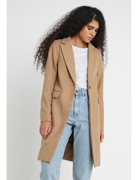 Lead In Coat   Classic Coat by New Look