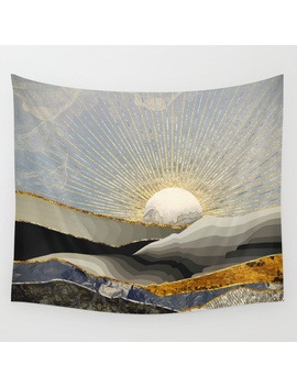 Morning Sun Wall Tapestry by