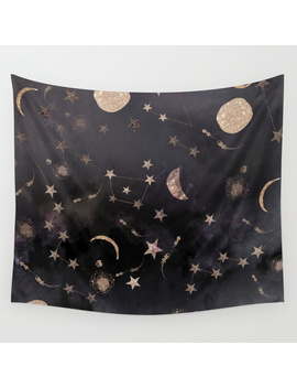 Constellations Wall Tapestry by