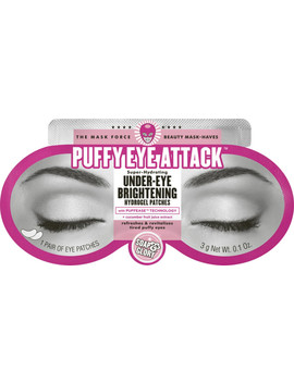 Puffy Eye Attack Super Hydrating Under Eye Brightening Hydrogel Patches by Soap & Glory