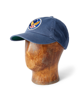 Garment Dyed Twill Ball Cap by Ralph Lauren