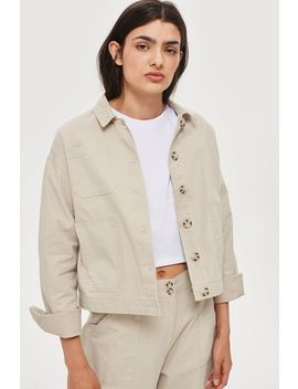 **Awkward Cropped Jacket By Native Youth by Topshop