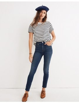 "Tall 10"" High Rise Skinny Jeans In Elinor Wash: Eco Edition by Madewell"