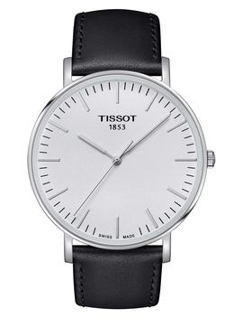 Everytime Leather Strap Watch, 42mm by Tissot