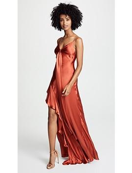 Tie Front Maxi Dress by Nicholas
