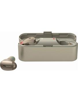 Wf 1000 X True Wireless In Ear Noise Canceling Headphones   Champagne by Sony