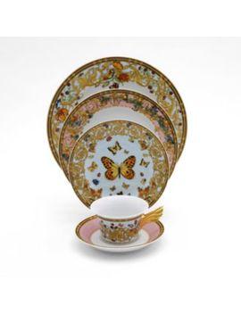 Versace Butterfly Garden Bread & Butter Plate by Rosenthal Meets Versace