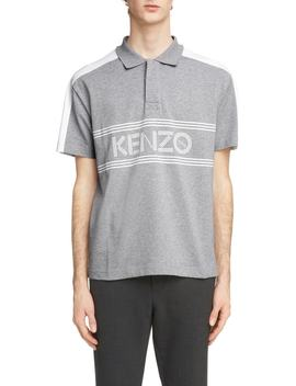 Sport Graphic Jersey Polo by Kenzo