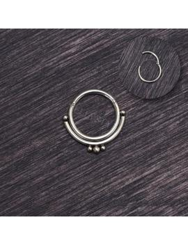 Surgical Steel Septum Jewelry 16g   Septum Clicker, Daith Jewelry by Etsy