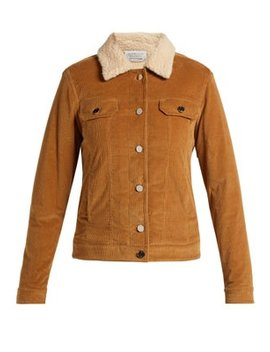 Pascoal Corduroy Cashmere Shearling Jacket by Gabriela Hearst