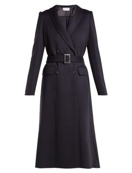 Joaquin Double Breasted Cashmere Coat by Gabriela Hearst