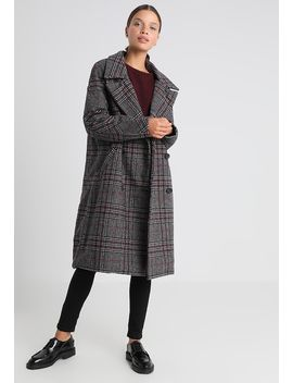 Onladriana Oversized Check Coat   Classic Coat by Only Petite