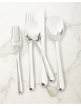 Aura 45 Piece Flatware Set by Nambe