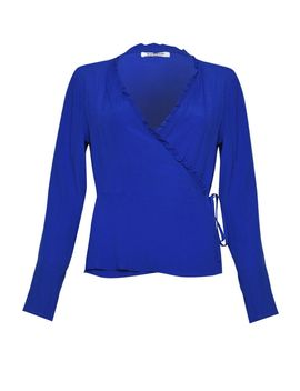 **Wrap Blouse Glamorous Tall by Topshop