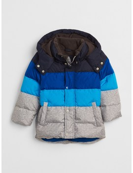 Cold Control Max Colorblock Puffer Jacket by Gap