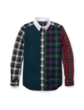 Plaid Cotton Poplin Fun Shirt by Ralph Lauren