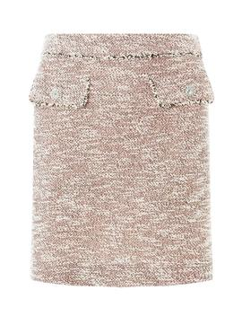 Pink Boucle Diamante Mini Skirt by Dorothy Perkins