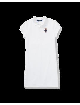 Polo Bear Mesh Polo Dress by Ralph Lauren