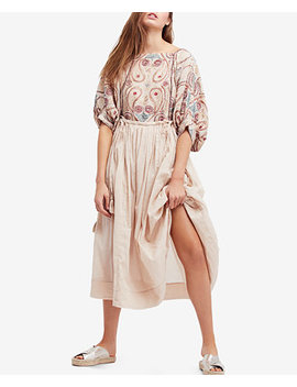 Mesa Embroidered Midi Dress by Free People