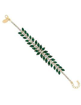 Jon Richard   Diamante Navette Bracelet by Jon Richard