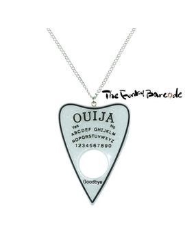 Tfb   Spiriual World Necklace Funky Long Ouija Board Pointer Seance Psychic Dead by The Funky Barcode
